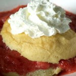 Strawberry-Rhubarb Shortcake