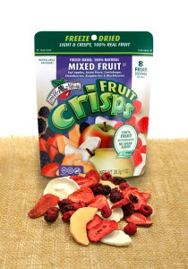 mixed fruit crisps