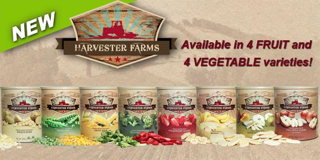 Harvester Farms Freeze-Dried Food