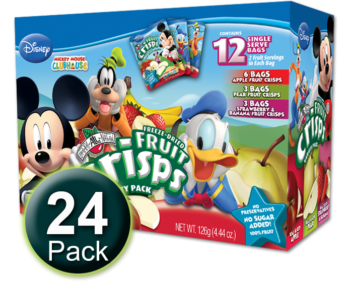 Disney Variety Fruit Crisp