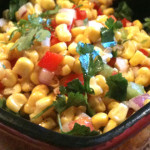 Sweet Corn Salad with Cilantro and Lime
