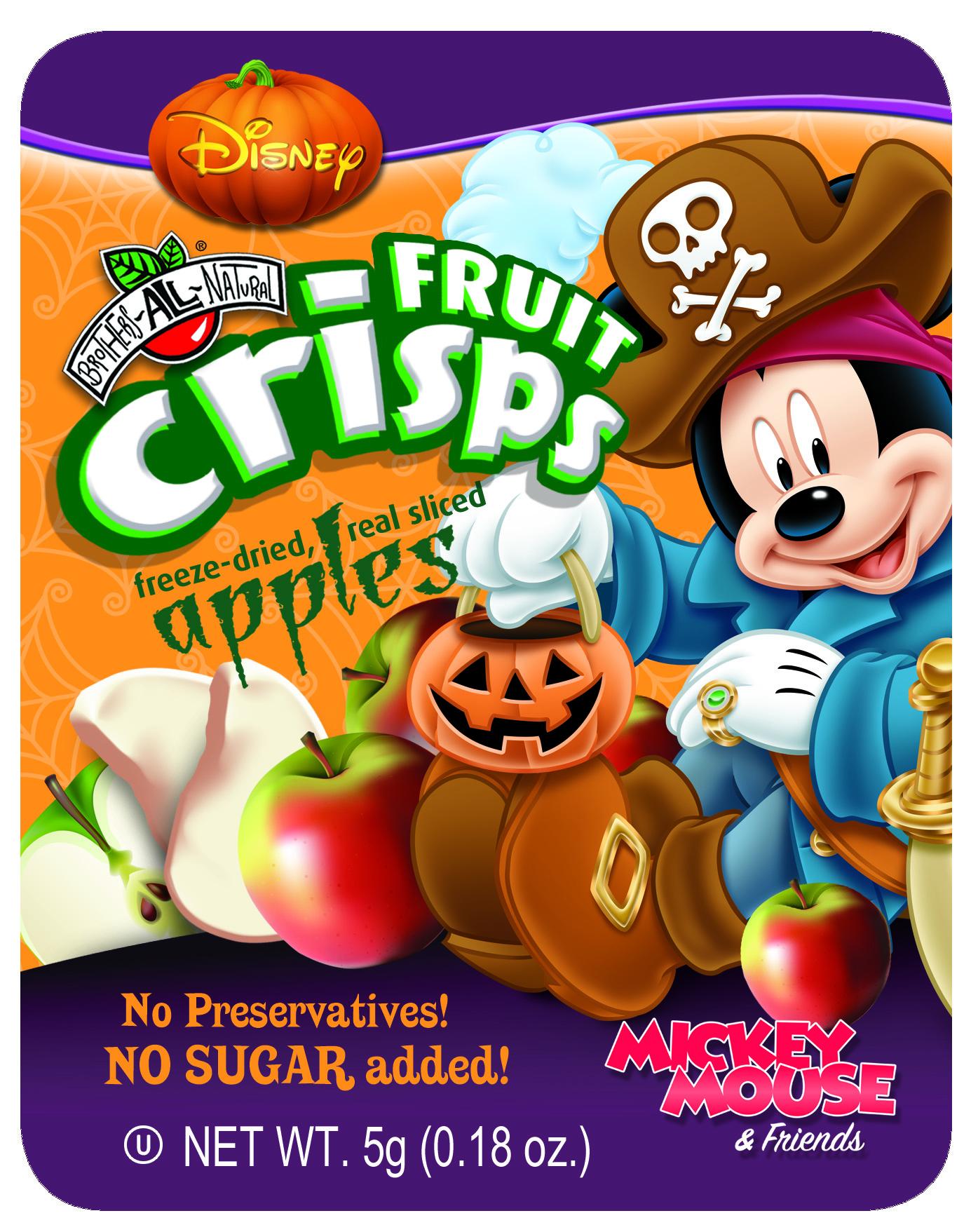 Disney Halloween Apple Fruit Crisps