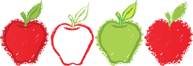 apple drawing contest