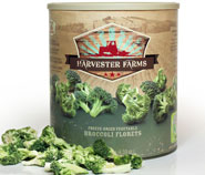 freeze-dried broccoli