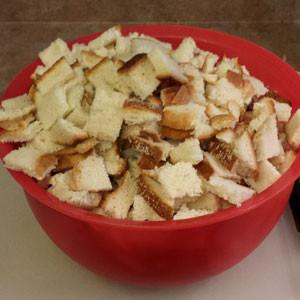 dry italian bread stuffing