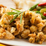 Holiday Herbed Pear and Walnut Stuffing