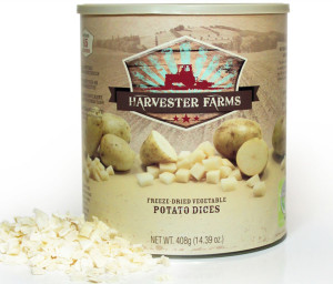 Freeze-Dried Potatoes