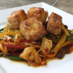 Tofu Pineapple stir fry recipe