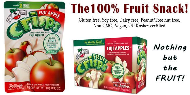 Fuji Apple Fruit Crisps