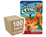 Disney Freeze-Dried Fruit Snacks: Peach Fruit Crisps 100-pack, Brothers-All-Natural