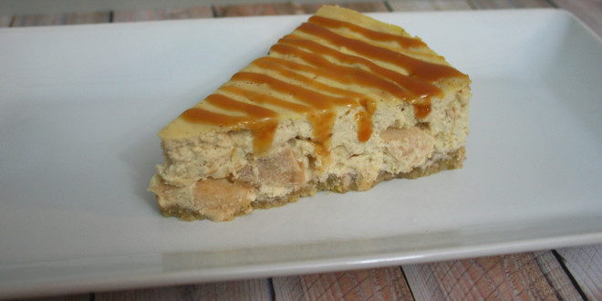 Gluten-Free & Low Carb Apple Cheesecake