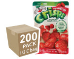 Freeze-Dried Fruit Snack: Strawberry Fruit Crisps 200-Pack, Brothers-All-Natural