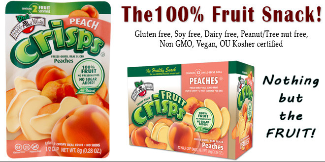 Peach Fruit Crisps