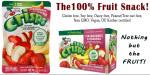 Strawberry-Banana Fruit Crisps gluten free snacks