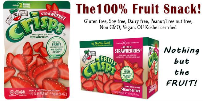 Strawberry Fruit Crisps
