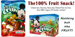 Disney Apple Cinnamon Fruit Crisps