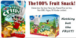 Disney Pineapple Fruit Crisps