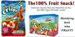 Disney Strawberry-Banana Fruit Crisps