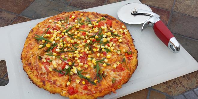 Gluten Free Southwestern Pizza