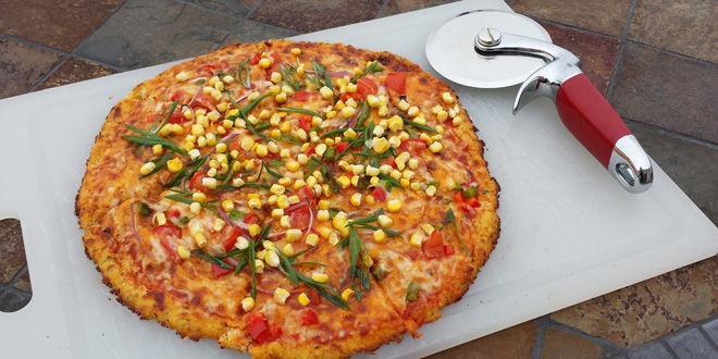 Gluten free low carb pizza