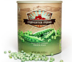 Harvester Farms Freeze-Dried Green Peas