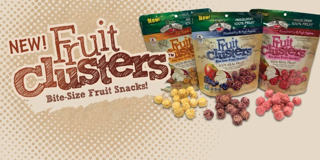 Fruit Clusters Bite-Size Fruit Snacks