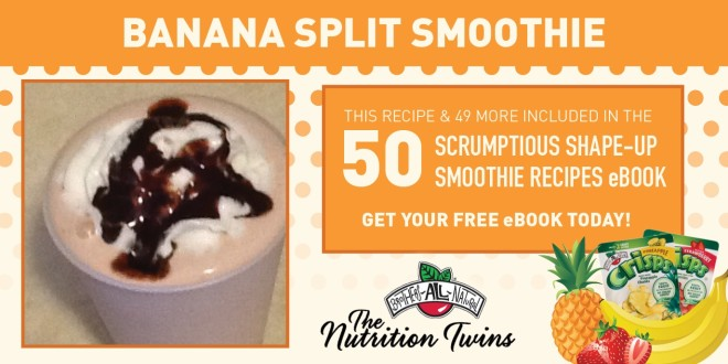 Banana Split Smoothie