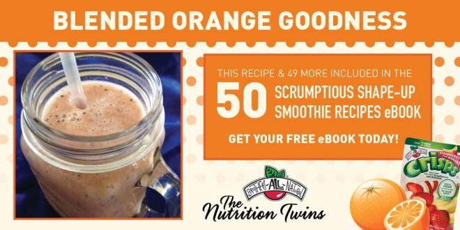Blended Orange Goodness