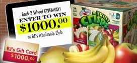 $1000 Back to School Giveaway Bonus