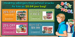 Back to School Sale Fruit Snacks Brothers-All-Natural