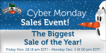 Cyber Monday Save and Win Sales Event