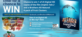 Dolphin Tale 2 Giveaway
