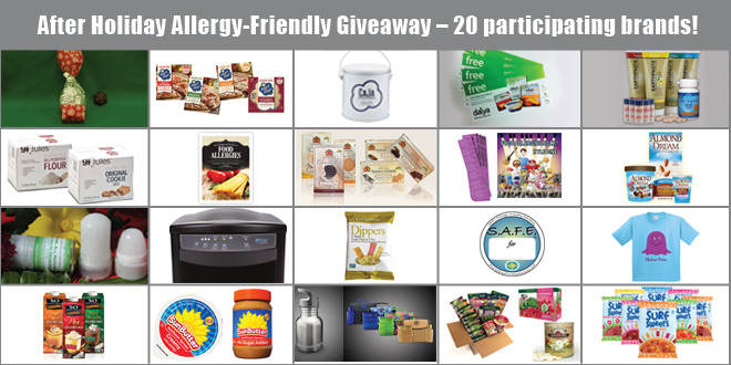 After Holiday Allergy-Friendly Giveaway!