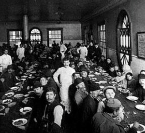 "In the 1920s, officials at Ellis Island became convinced that serving new immigrants ice cream ""was an efficient method for making our future citizens more at home in their new environment."" Ice cream was, these immigration officials believed, the ultimate American experience and many pointed to ice cream's long history in America as evidence that the dessert was as American as that other equally famous dessert: apple pie."