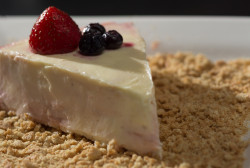 When you're trying to eat clean, cheesecake doesn't exactly make the grade. So it stink when National Cheesecake Day comes around right in the middle of our trying to be good and clean and drop a few pounds.