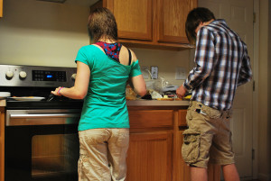 Sandra Hofferth found that the single strongest predictor of better achievement scores and fewer behavioral problems among three- to twelve-year olds was more family meal time together.