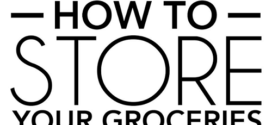Where to Store Your Groceries