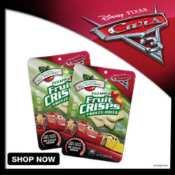 Cars Fruit Crisps