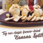 The Ultimate Freeze Dried Banana Split