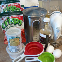 homemade muffin ingredients