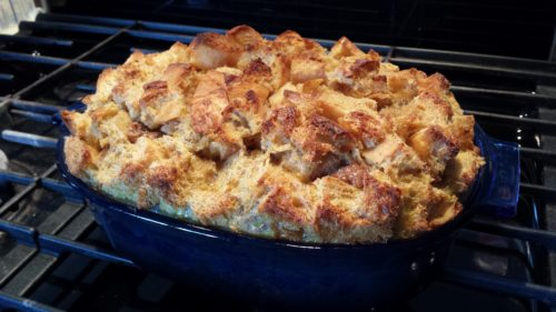 Baked French Toast with Freeze Dried Fruit