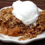 Easy Baked Apple Crisp