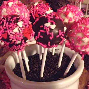 greek yogurt light cake pops