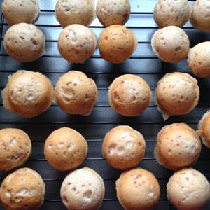 cake balls cooling