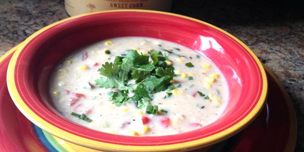 Gluten Free Southwest Corn Chowder
