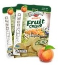 Peach Fruit Crisps