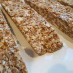 Cinnamon Apple Granola Bars
