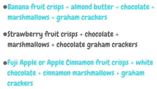 Freeze Dried Fruit Smores Ideas