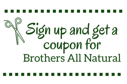 sign up coupon