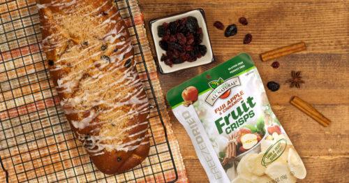 Braided Apple Raisin Bread